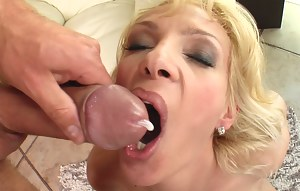Cum in Mature Mouth Porn Pictures